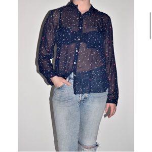 Mara Hoffman sheer star blouse 6